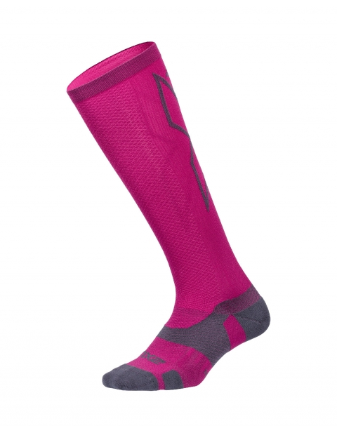 Kompresní podkolenky 2XU VECTR LIGHT CUSHION FULL LENGTH SOCKS